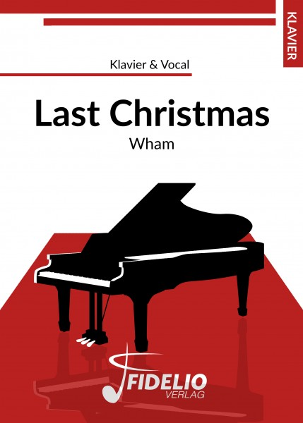 Last Christmas | Klavier & Vocal